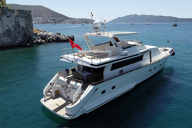 Motor Yacht Charters in Turkey
